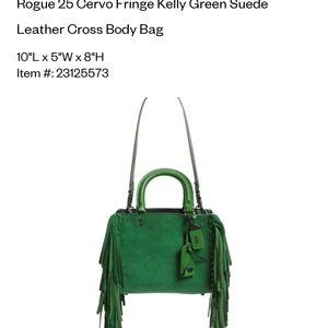 Coach Rogue 1941 25 Kelly green fringe
